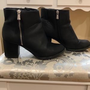 Very comfortable wide heeled boots